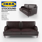 STOCKSUND, Grann/Bomstad black, black/wood