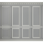 Moldings on the walls
