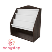 OM Children's book shelf babystep Loft, 800 floor with textile shelf