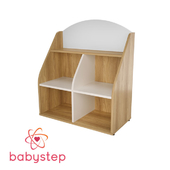 OM Shelving-showcase for children babystep Holiday, 800