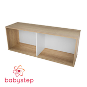 OM Children's shelving babystep Celebration, 400 horizontal