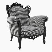 Кресло «Пош» (Posh rubber pepita)