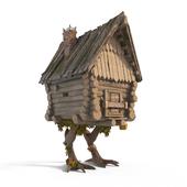 Hut on chicken legs