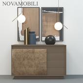 novamobili overlap chest of drawers, commode