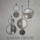 Mirror round Garda Decor