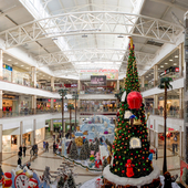 Panoramas of the shopping center Red Square, Krasnodar. 6 photos