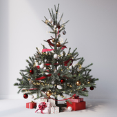 Christmas tree set №1