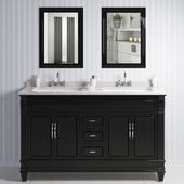 Wash basin counter