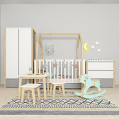 Furniture in the nursery Pinette, Bellamy