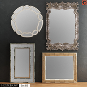 HORCHOW Mirrors Set 02