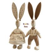 Mrs&Ms Bunny