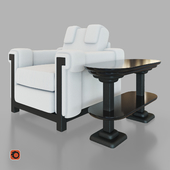 Lilia Armchair and Table