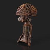 Maya Statuette