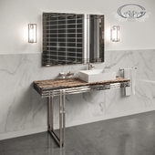 A set of furniture and sanitary ware for the bathroom Gaia Mobili # 3