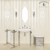 Set of sanitary ware and tiles Petracers Ad Personam # 2