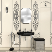 Set of sanitary ware and tiles Petracers Ad Personam # 3