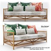 Caroline 3 seat Sofa by Sika design