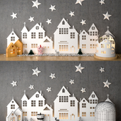 Decorative christams set 1