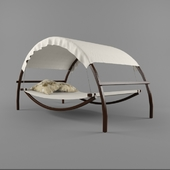 Bed-rocking chair