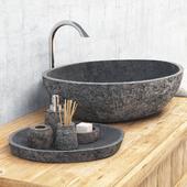 Stone washing / Stone washbasin
