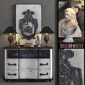 Dresser with mirror GuildMaster