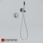 Wall-mounted shower mixer
