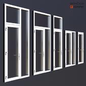 Aluminum doors Schuco