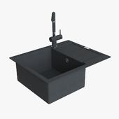 Franke Maris Sink MRG 611 62 Fragranite Onyx