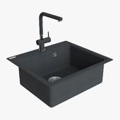Franke Maris Sink MRG 610 58 Fragranite Onyx