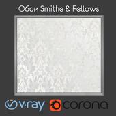 Wallpapers SMITH & FELLOWS / Grasmere / White / Silver