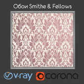 Wallpapers SMITH & FELLOWS / Grasmere / Beige / Plum