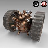 Steampunk Wheelmine