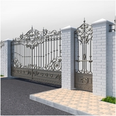 Forged gates 2252