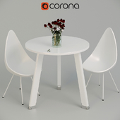 Furniture set for kitchen or dining room