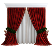 Curtain Chicca Orlando with spruce picking
