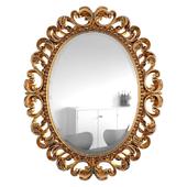 Mirror Daisy Gold