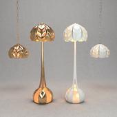Floor lamp and Ceiling light 3D model