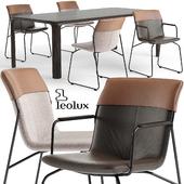 Leolux Ditte chair set