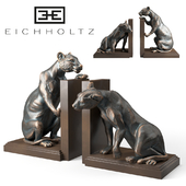 Bookend Lioness set of 2 Eichholtz