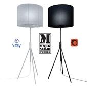 Model SLING, floor lamp from the company MARKSLOJD, Sweden.