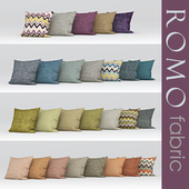 texture romo Marlow fabric a set of fabrics from ROMO