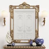 Mirror Chelini art.550