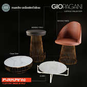 Table and chair set (NEW AIR, ICARO, RENDEZ-VOUS)