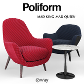 Armrests Poliform MAD Queen and MAD King