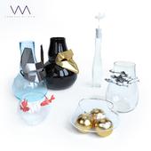 A set of vases by Vanessa Mitrani