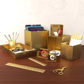 Storage box set CB2 (vray, corona)