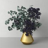 Bouquet with elderberry