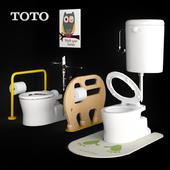 TOTO toilet Chair-style stool device set