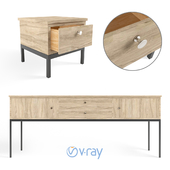 Sideboard and Chest of drawer