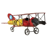 Wesley Model Plane Ornament